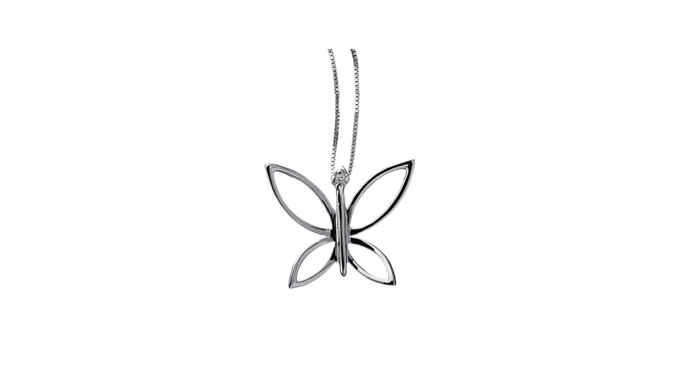 5029 – Collana fantasia in oro bianco e diamanti naturali