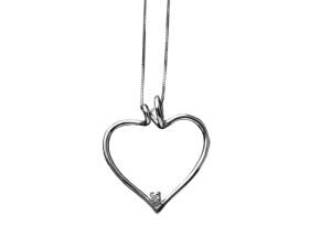 5044 – Collana in oro bianco e diamanti naturali