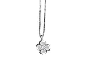 5052 – Collana fantasia in oro bianco e diamanti naturali